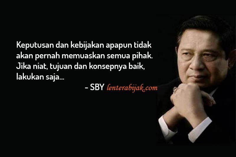 Kutipan SBY Tentang Pemimpin Dan Demokrasi