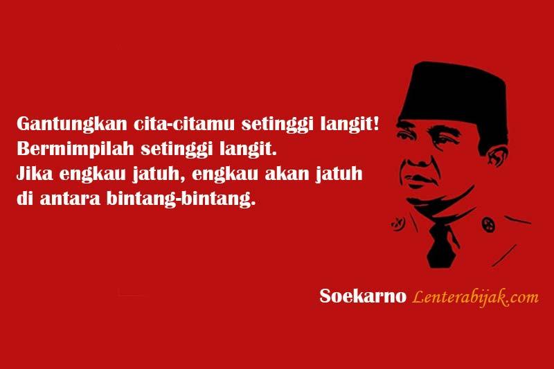 Quotes Kutipan Bung Karno Untuk Bangsa Indonesia Lentera