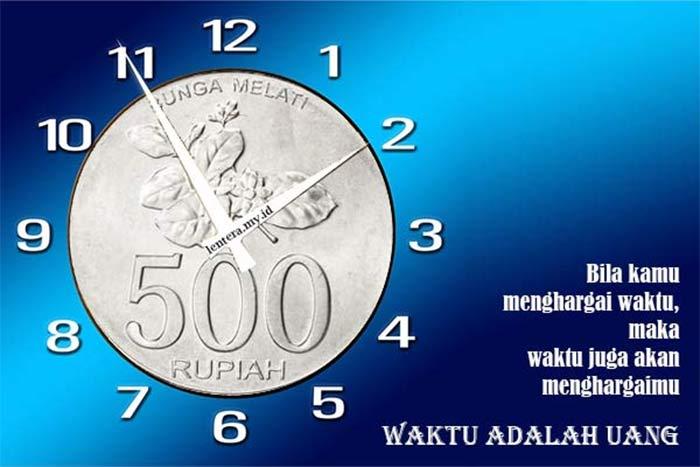 Kata-Kata Bijak Tentang Waktu Adalah Uang