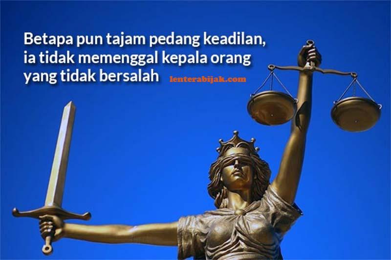 Kata-kata Bijak Tentang Keadilan