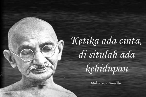 Kutipan Mahatma Gandhi Tentang Kehidupan