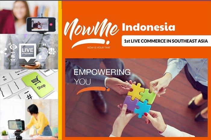 NOWME Live Commerce Pengalaman Baru Belanja Online