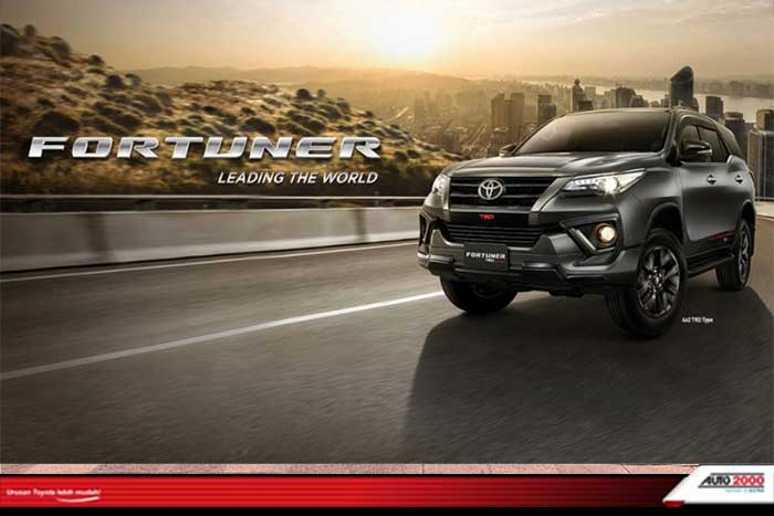 Mobil Toyota Fortuner 4x2
