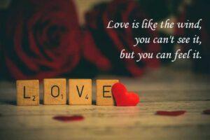Kata-kata Bijak Bahasa Inggris Tentang Cinta