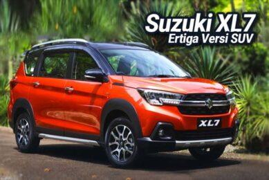 Desain Interior dan Eksterior Suzuki XL7