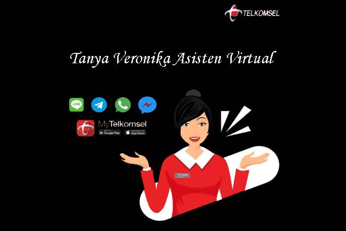 Layanan Tanya Veronika Asisten Virtual