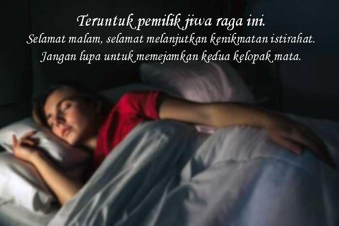 Kata-kata Bijak Pengantar Istirahat Tidur